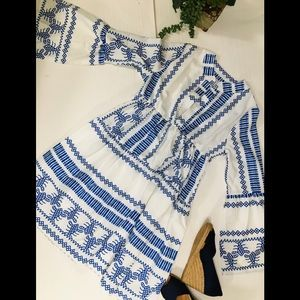 MISSLOOK Bell sleeve dress, sz M
